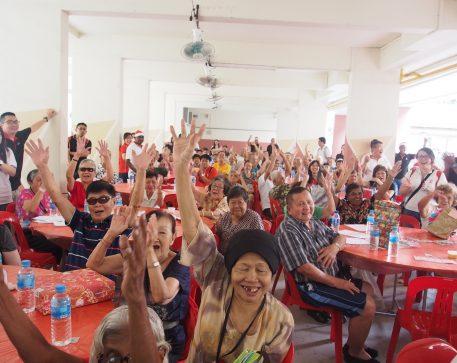 Charity Event (Christmas Eve Celebration) for  Asian Women's Welfare Association (AWWA)