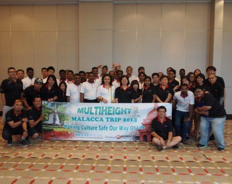 1st Company Retreat to Malacca 2014